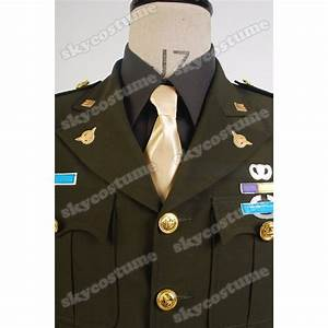Us Weight Measurements Chart Captain America Steve Rogers Wwii Army Ssr Uniform Cosplay