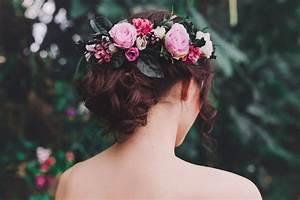 Couronne De Fleurs Mariée : 11 couronnes de fleurs artificielles ou stabilis es pour un mariage boh me ~ Farleysfitness.com Idées de Décoration