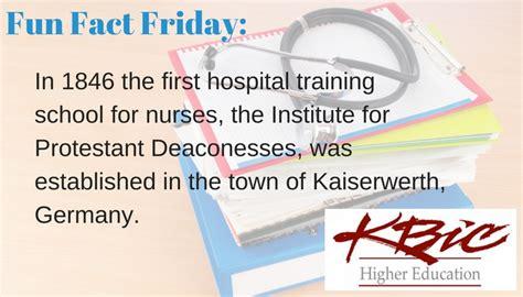 fun fact friday     hospital training