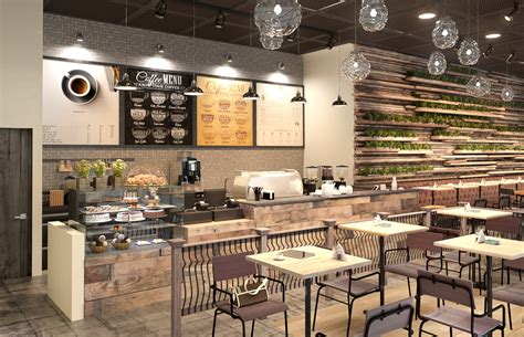 cafe interieur industrial rustic caf 233 interior design cas