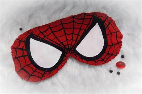 Máscara de Dormir Homem Aranha no Elo7 Cantinho das