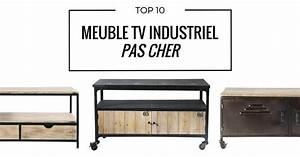 Meuble Bébé Pas Cher : meuble tv industriel pas cher le top10 ~ Teatrodelosmanantiales.com Idées de Décoration