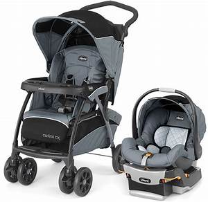 CHICCO Cortina CX Baby Travel System Stroller w KeyFit 30 ...