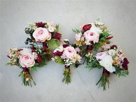 bridesmaid bouquet wedding bouquet bouquet set silk