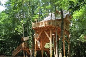 Constructeur Cabane Dans Les Arbres : cabane f erique nidperch constructeur de cabane ~ Dallasstarsshop.com Idées de Décoration