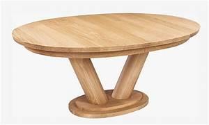 Table Chene Massif Rustique : table ovale baltique vazard ~ Teatrodelosmanantiales.com Idées de Décoration