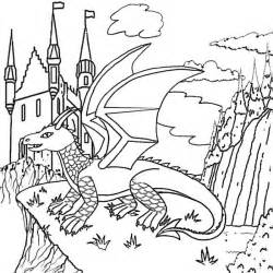 Cool Dragon Coloring Pages Printable