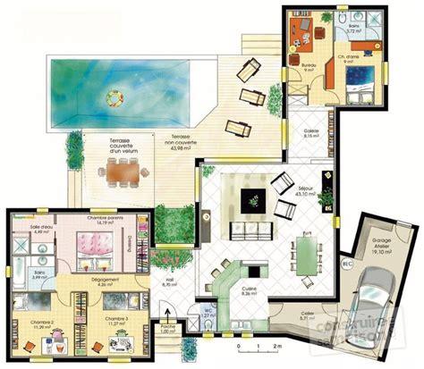 bureau center martinique maison fonctionnelle 1 dé du plan de maison