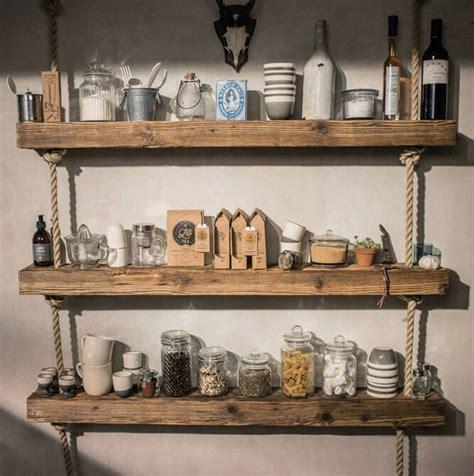 Wohnideen Aus Holz by Diy Regal Aus Holz Und Tau Dekoriert Mit Unseren Produkten