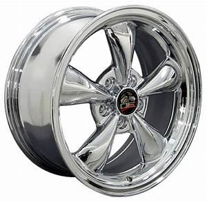 Chrome Wheels Toyo Extensa HP II Tires fit Ford Mustang 17x8 Bullitt