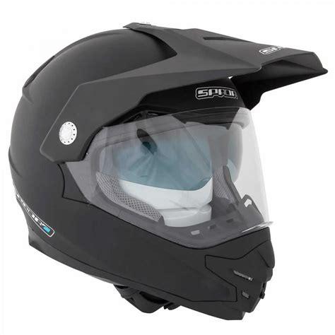 motocross helmet visor spada intrepid dual sport adventure motorcycle helmet sun