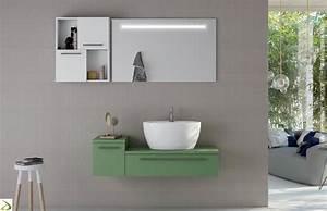 Bagno con lavabo soprapiano Frazier Arredo Design Online