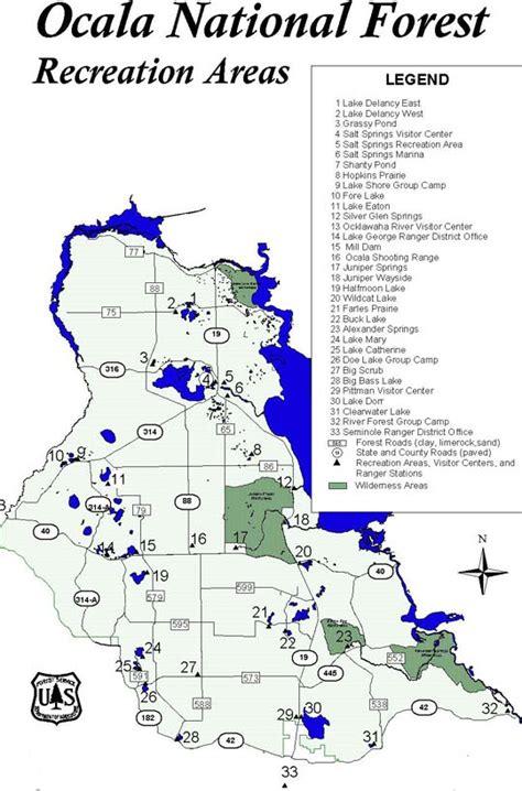 Florida Accommodations   Ocala Camping
