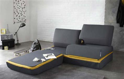 canapé convertible petit espace canape design pour petit espace