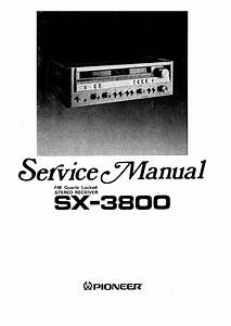 Pioneer Sx-3800
