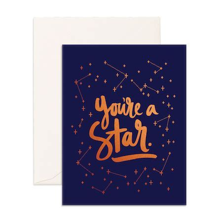 you're a star card   congratulations   greeting cards
