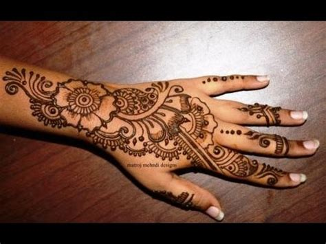 beautiful simple mehndi henna designs  hands