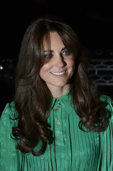 kate middleton flaunts a new side swept layered haircut
