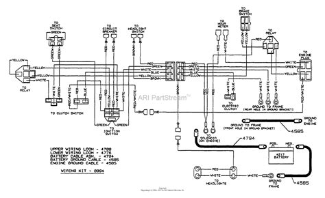 Proform Electric Fan Wiring Diagram by Dixon Ztr 6601 1996 Parts Diagram For Wiring Assembly