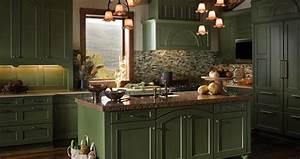 Mountain Retreat Kitchen Wood-Mode Fine Custom Cabinetry