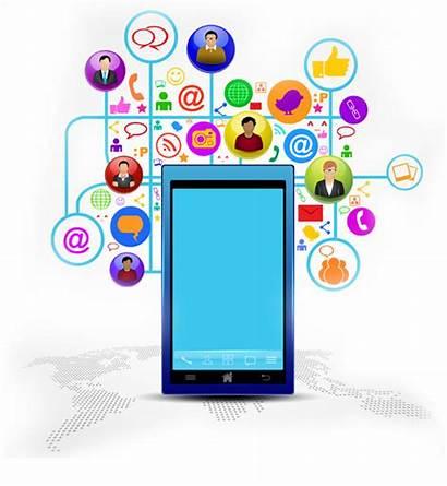 Social Business Marketing Mobile Network Development Phone