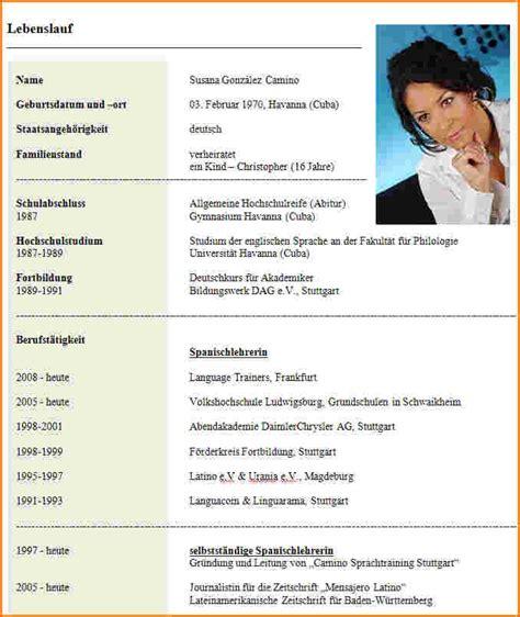 Lebenslauf Studium Muster by 17 Lebenslauf F 252 R Studium Muster Freyajacklin