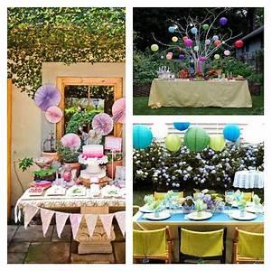 Decoration table anniversaire 50 propositions pour l39ete for Salle de bain design avec décoration d anniversaire pour adulte