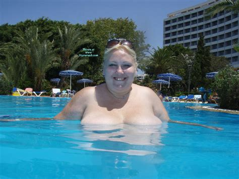 Topless Wife Anna At The Pool August 2010 Voyeur Web