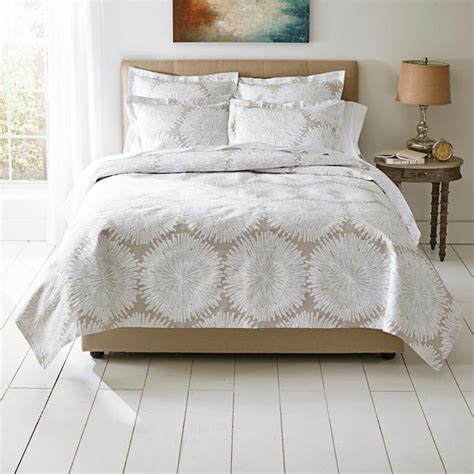 What Is A Coverlet Sham by Burst Matelasse Coverlet And Sham Grandin Road