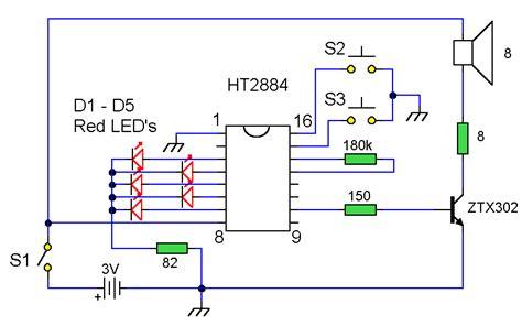 How Build Sound Effects Generator Circuit Diagram