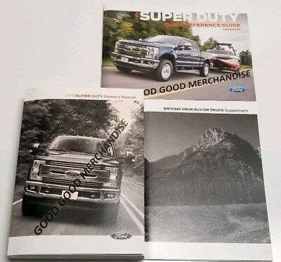 ford   owners manual xl xlt lariat king ranch