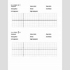 Graphing Trig Functions Worksheets By Nicole Keith Tpt