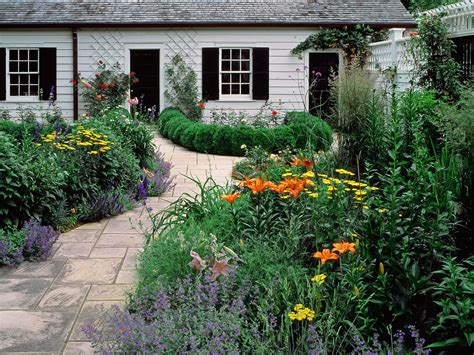Wallpaper Desk  Cottage Garden Wallpaper, Cottage Garden