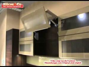 Hängeschrank Glas Lifttür : k che co h ngeschrank mit glas faltliftt youtube ~ Orissabook.com Haus und Dekorationen