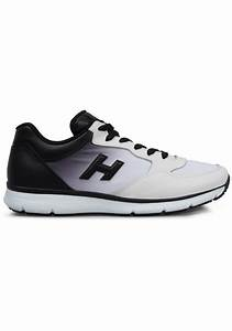 Nicholas Kirkwood Size Chart Hogan Sneakers In White Leather With Black Gradation