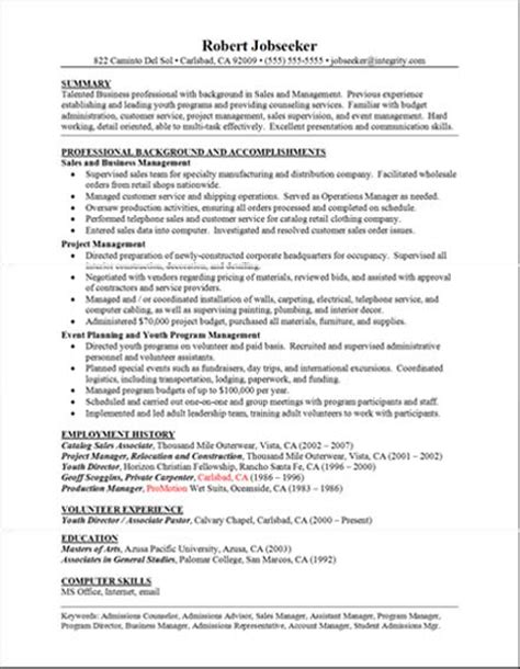 resume template word free download 2016 microsoft good resume exles professional background and accomplishments