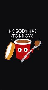 No body has to know - Funny Cartoon iPhone wallpapers ...