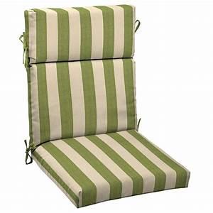 Shop allen + roth Merrill Stripe Cilantro Standard Patio
