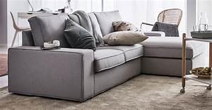 Ikea Canapé Tissu : kivik s rie ikea ~ Teatrodelosmanantiales.com Idées de Décoration