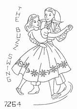 Embroidery Square Dance Coloring Flickr Yee Dancing Patterns Pages Pattern Swing Cross Haw Mmaammbr Explore Template Transfers Applique Stitch sketch template