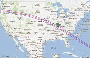 August 2017 Solar Eclipse Path