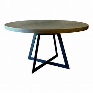 Table De Salle Manger Baron Ronde Ph Collection Dco