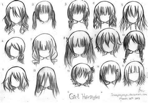 short anime hairstyles  girls manga hairstyles girl
