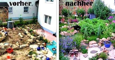 Kleinen Garten Gestalten Vorher Nachher by Gartengestaltung 25 X Garten Vorher Nachher Mein