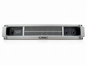 Plx3602 Power Amplifier  U2013 Qsc