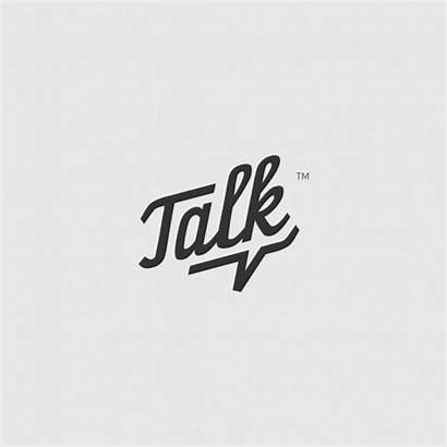 Talk Speech Bubble Logos Inspiration Creative Inspirationde