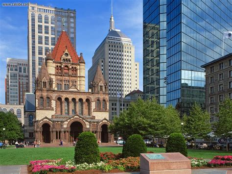 [architecture] Trinity Church Of Boston, Massachusetts Calvin Klein Shower Curtain Baroque Ruffle Ombre Red And Yellow Curtains Gray Portal 2 What Size Is A Southwest