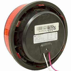 120 Volt Ac 8 U0026quot  Red Led Traffic Signal Light 5