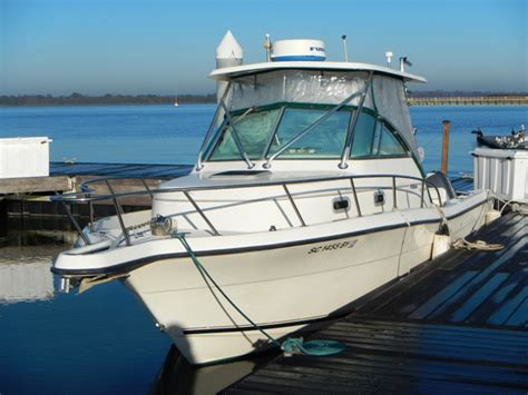 Pursuit Boats 2870 Wa by 2001 Pursuit 2870 Wa With Trailer 39 995 The Hull