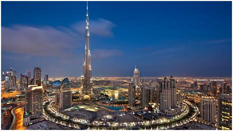 Burj Khalifa Dubai At Night Hd Wallpaper